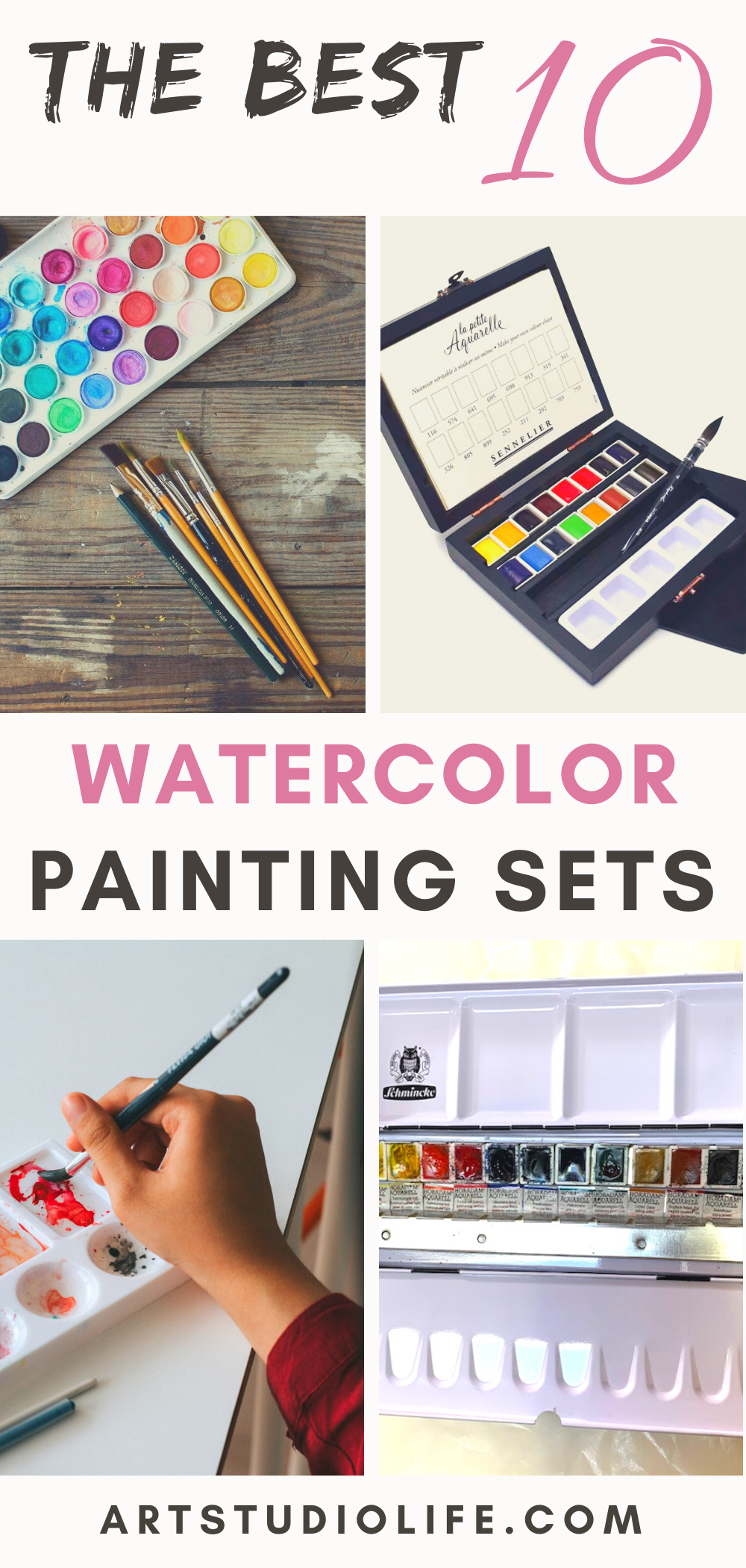 Which Are The Best Top 10 Watercolor Paint Sets In 2020 Watercolor Branding Watercolor Paint Set Paint Sets