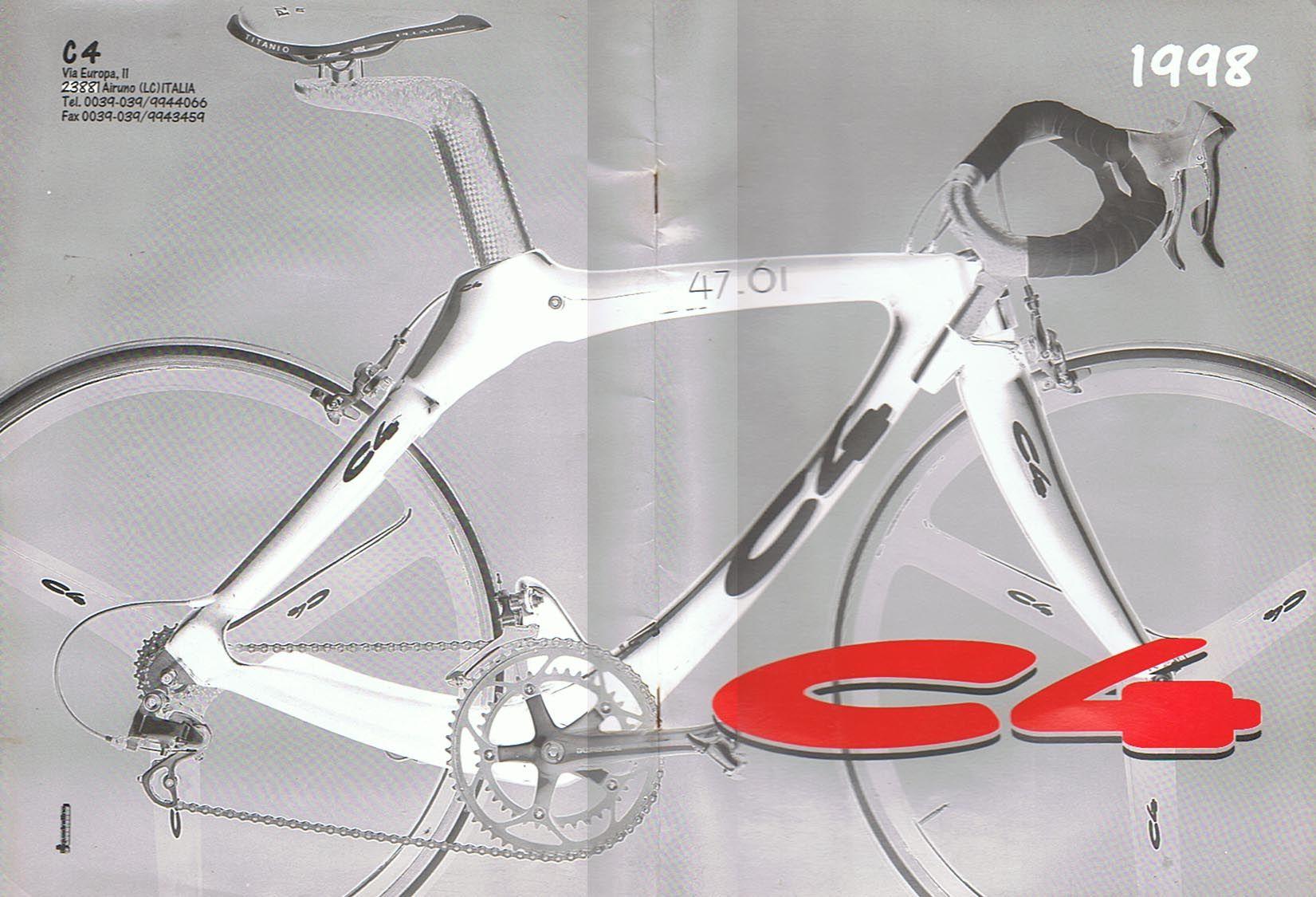 Sales Folder C4 Carbon Bikes 1998 Cover Pic Modell 47 61