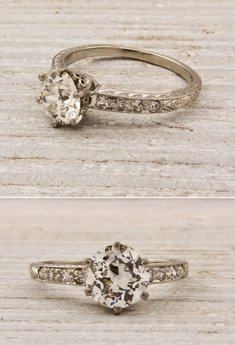 Really Pretty Antique Engagement Rings Vintage Wedding Rings Vintage Antique Wedding Rings