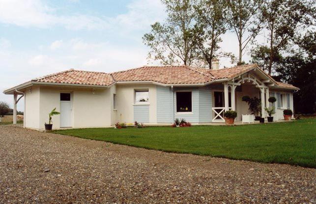Construction maison neuve \u2013 Saint Server \u2013 Landes (40) Maisons - plan de maison en v gratuit