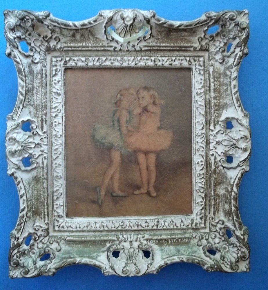 French Provincial/shabby decor detailPicture frame resin