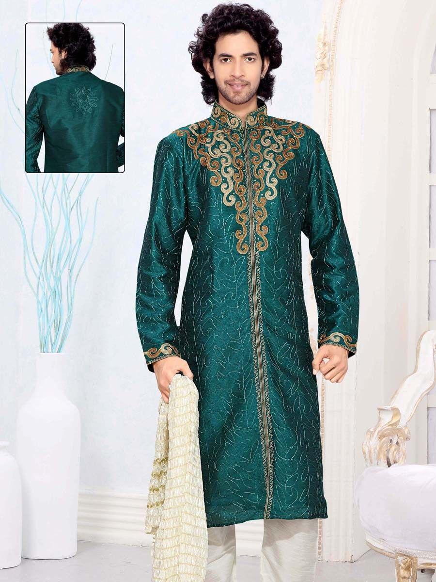 Beguiling designer semi sherwani suits for men pinterest sherwani