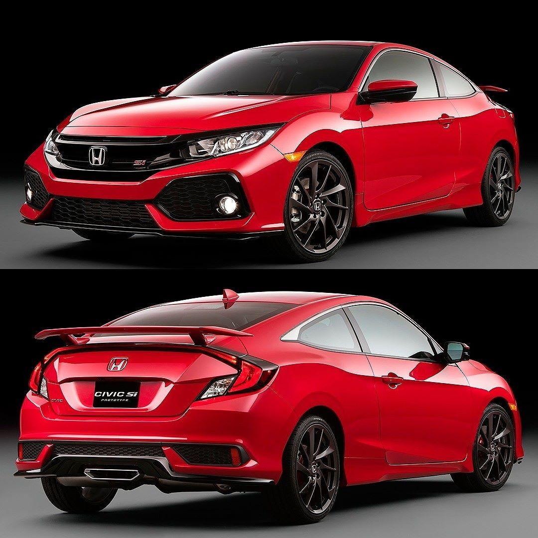 Honda Civic Si Prototype 2017 Uma novidade interessante