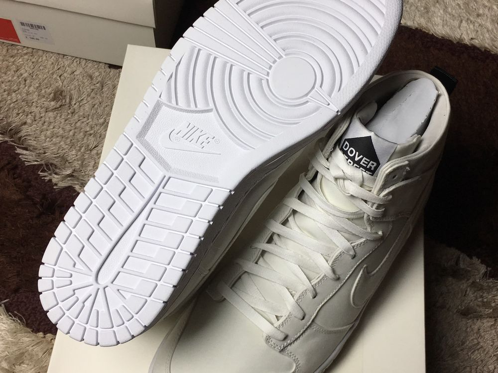 super popular 964f7 f56d8 Brand New White Dover Street Market x Nike Dunk Lux SP Size 13   eBay