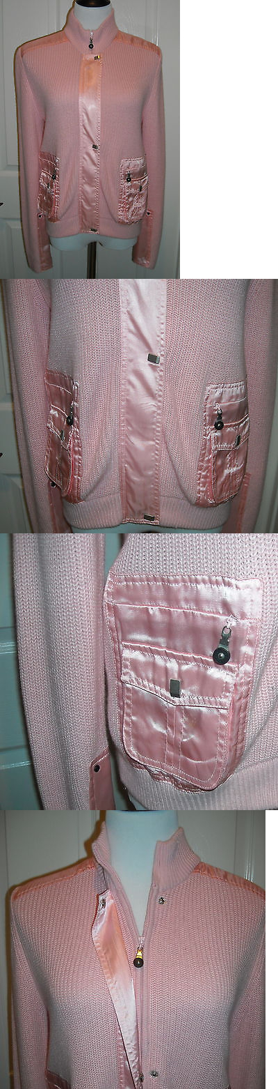Coats and Jackets 181145: Nwt Jamie Sadock Golf Womens Long Sleeve Jacket Size M Color Light Pink Pretty BUY IT NOW ONLY: $49.99