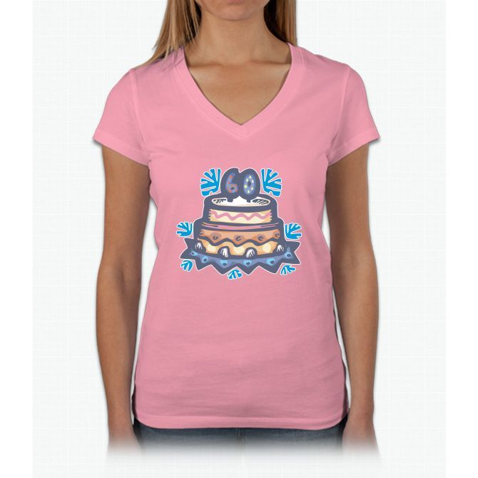 60th Birthday Womens V-Neck T-Shirt