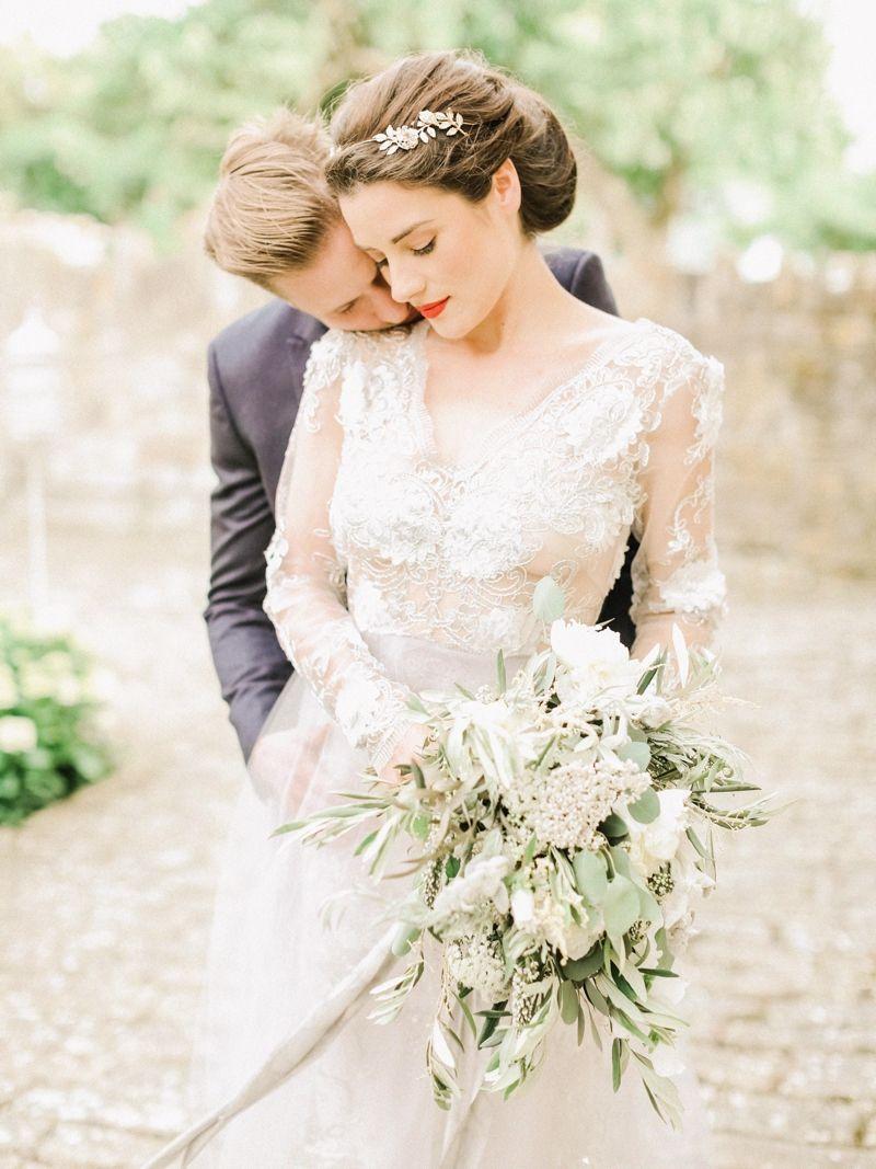 Elegant Wedding Photography: Simple And Elegant Italian Style Wedding Inspiration