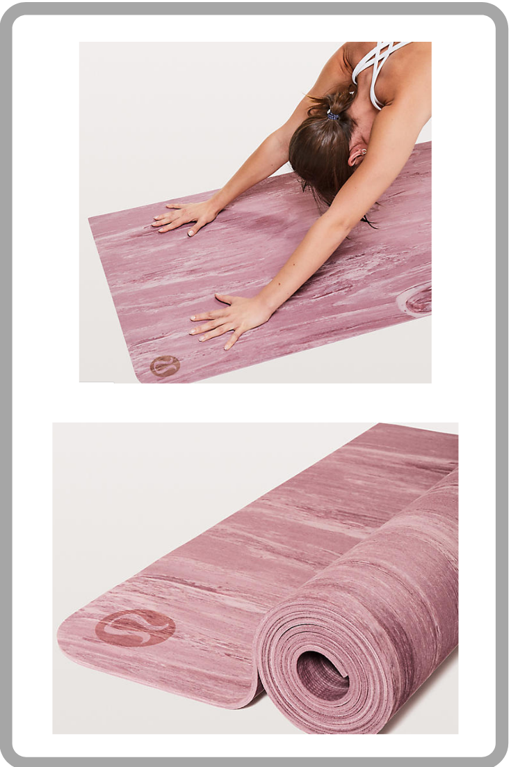 Cute Pink Lululemon Yoga Mat Extra Grip Namastay Mat In This Beautiful Misty Rose Pink Color Affiliate Lululemon Yoga Mat Fitness Photos Workout Challenge