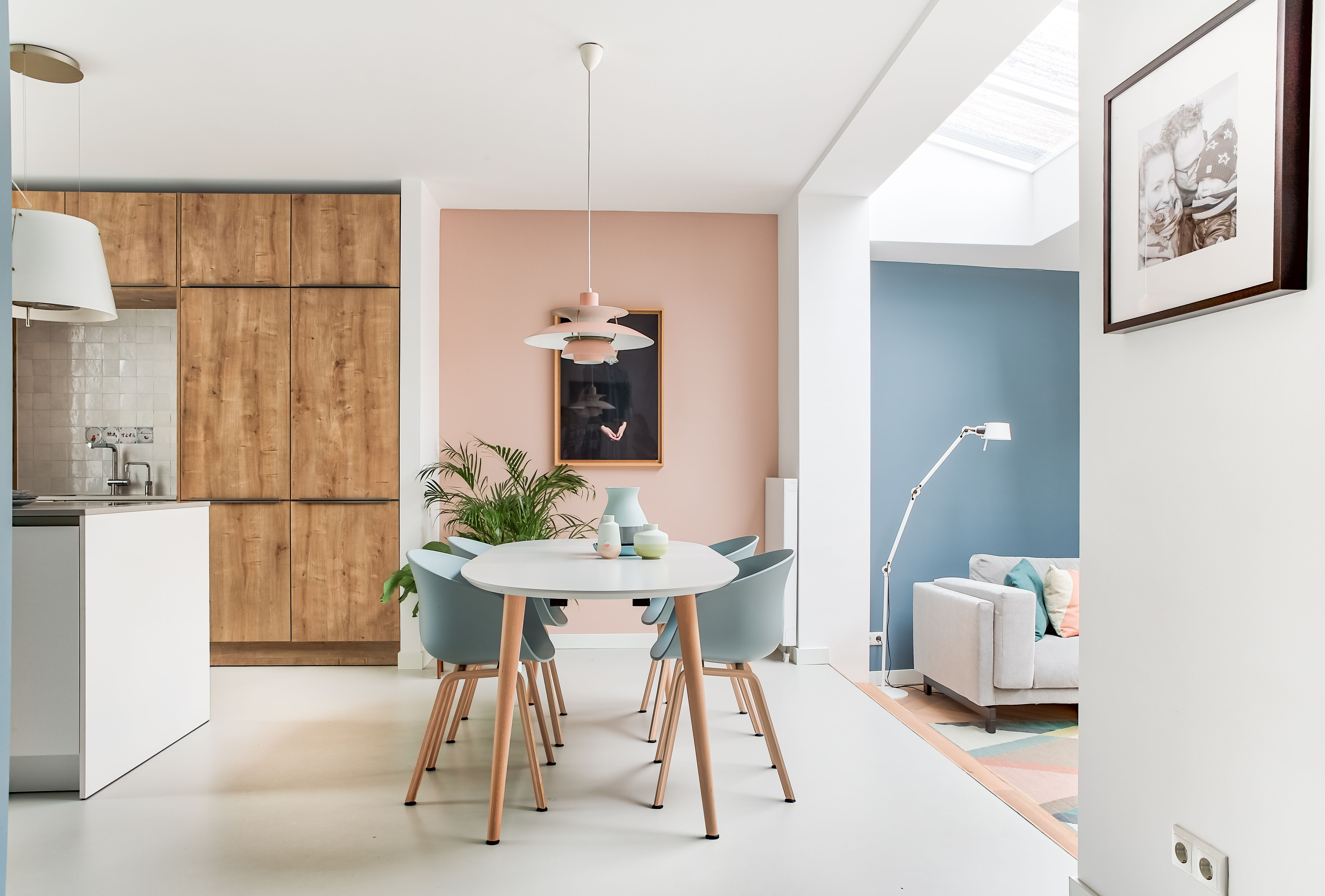 Design Keuken Utrecht : Studio binnen interior design project utrecht blue pink