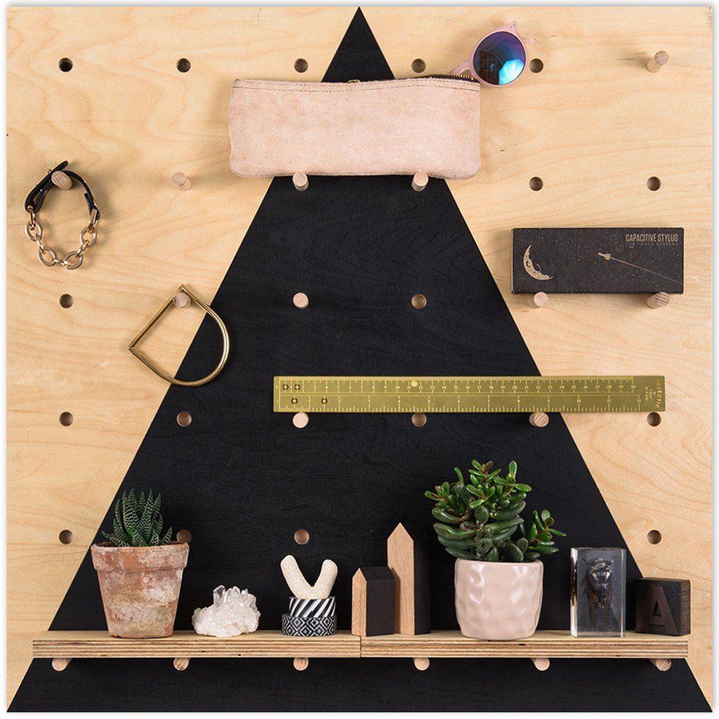Pegboard Black Triangle