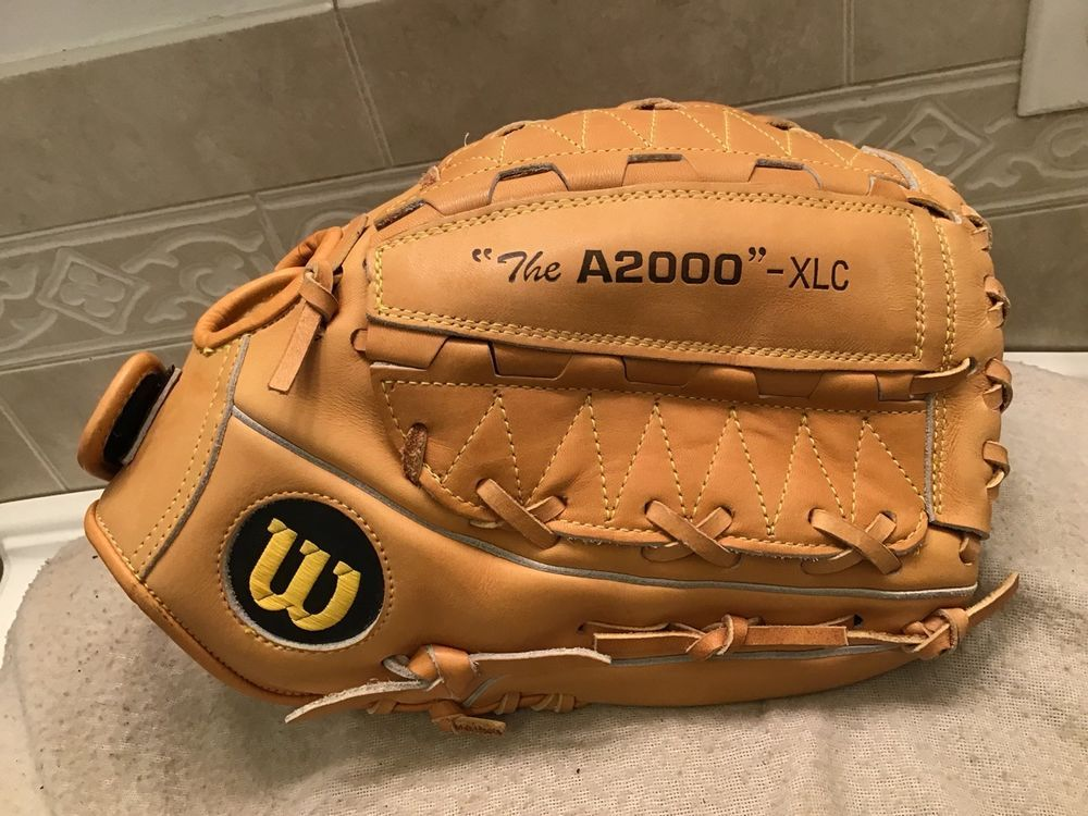 2bbdab8bc72 Wilson A2000 XLC 12.75 Pitchers Baseball Softball Glove Right Hand Throw  (eBay Link)
