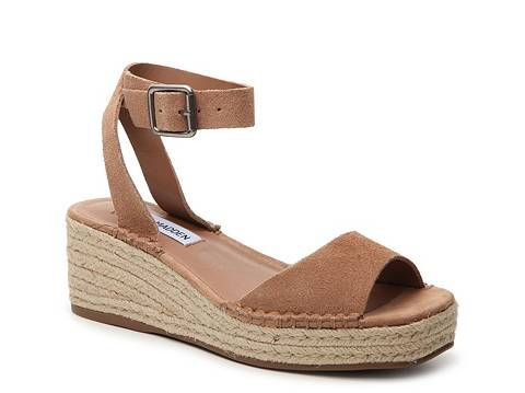 289edfcbc66 Steve Madden Elody Wedge Sandal | Wish list! | Shoes, Heeled ...