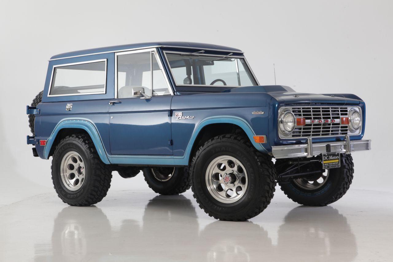 1969 Bronco Sport Limited Edition 302ci 4spd Ford Bronco Bronco