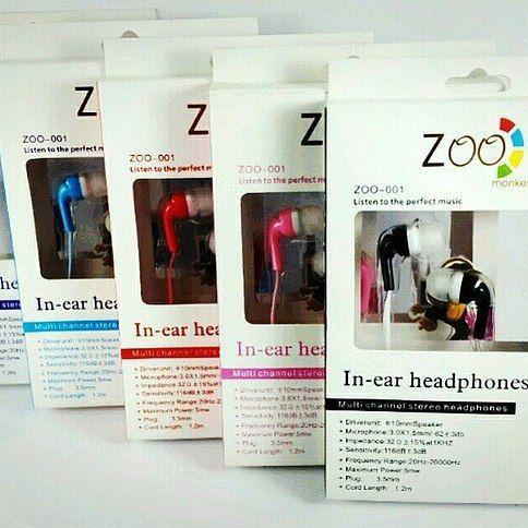 Handsfree Zoo Monkey Zoo 001 Headset Earphone Headphone Hf Handsfreezoomonkey Handsfreezoomonkeymurah Handsfree Dengan Sua Headphone Aksesoris Ungu
