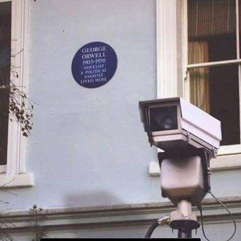 Love Orwell? Love the irony...