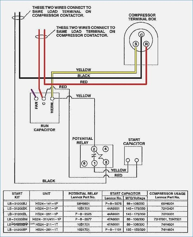 Awesome Air Conditioning Condensing Unit Wiring Diagram And Pics In 2020 Electrical Circuit Diagram Electrical Wiring Diagram Ac Capacitor