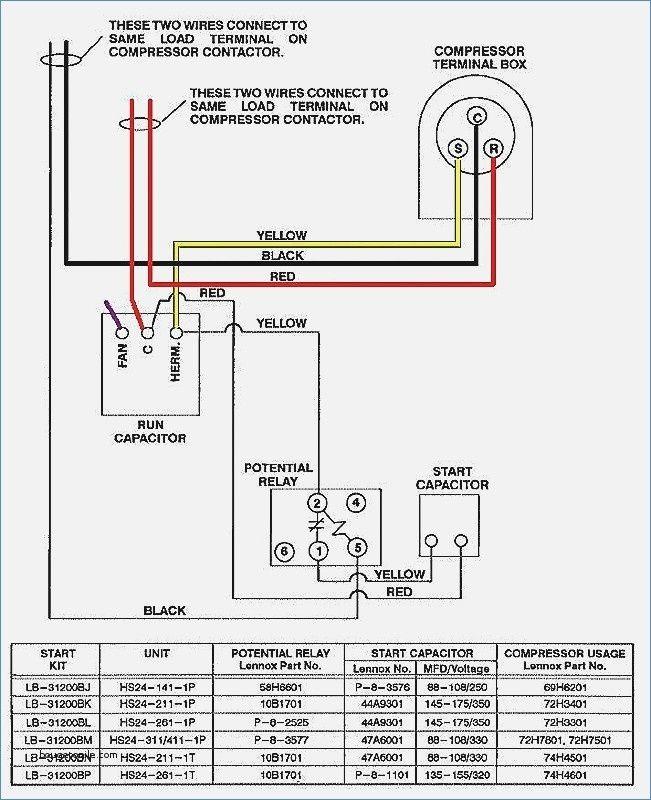 Ac Condensing Unit Wiring Diagram Library H7 Goodman In