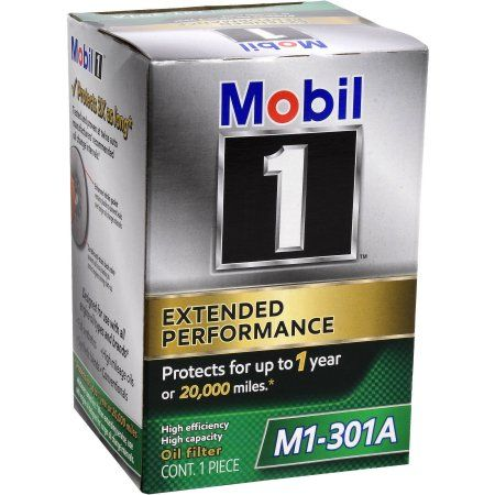 Mobil 1 M1-301A Extended Performance Oil Filter, Multicolor