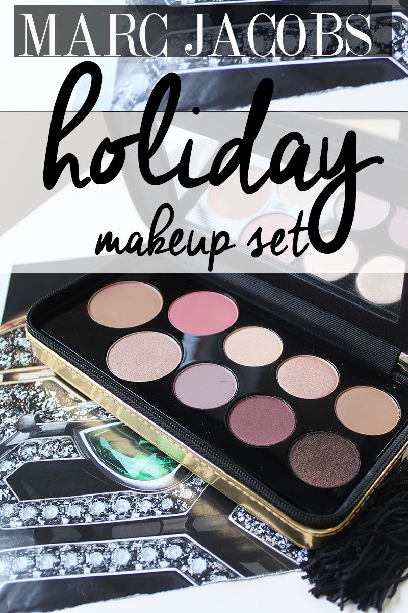 Marc Jacobs Holiday Makeup Object Of Desire Face and Eye