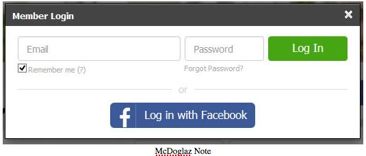 Meetme Einloggen mit Facebook