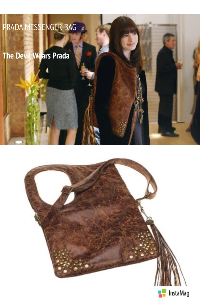 e2a4c95fd406 Devil Wears Prada Brown Leather Messenger Bag | Stanford Center for ...
