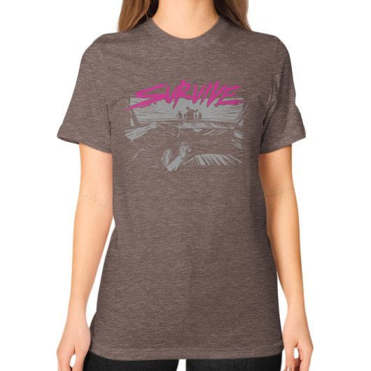 Survive Unisex T-Shirt (on woman)