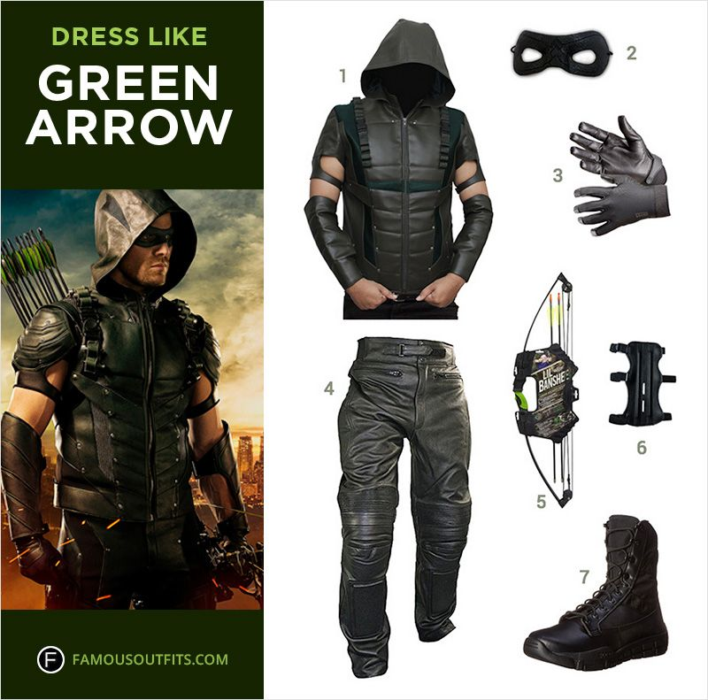 Dress like Stephen Amell from the TV show Arrow. Get Oliveru0027 Queenu0027s Arrow costume by following this guide.  sc 1 st  Pinterest & Dress Up in Style this Halloween | Pinterest | Arrow costume ...