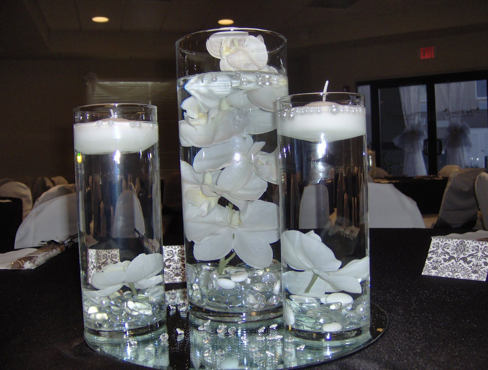 centerpieces for wedding Easy To Make Wedding Centerpieces Photo from Hartman Sauls Wedding Happy Tears