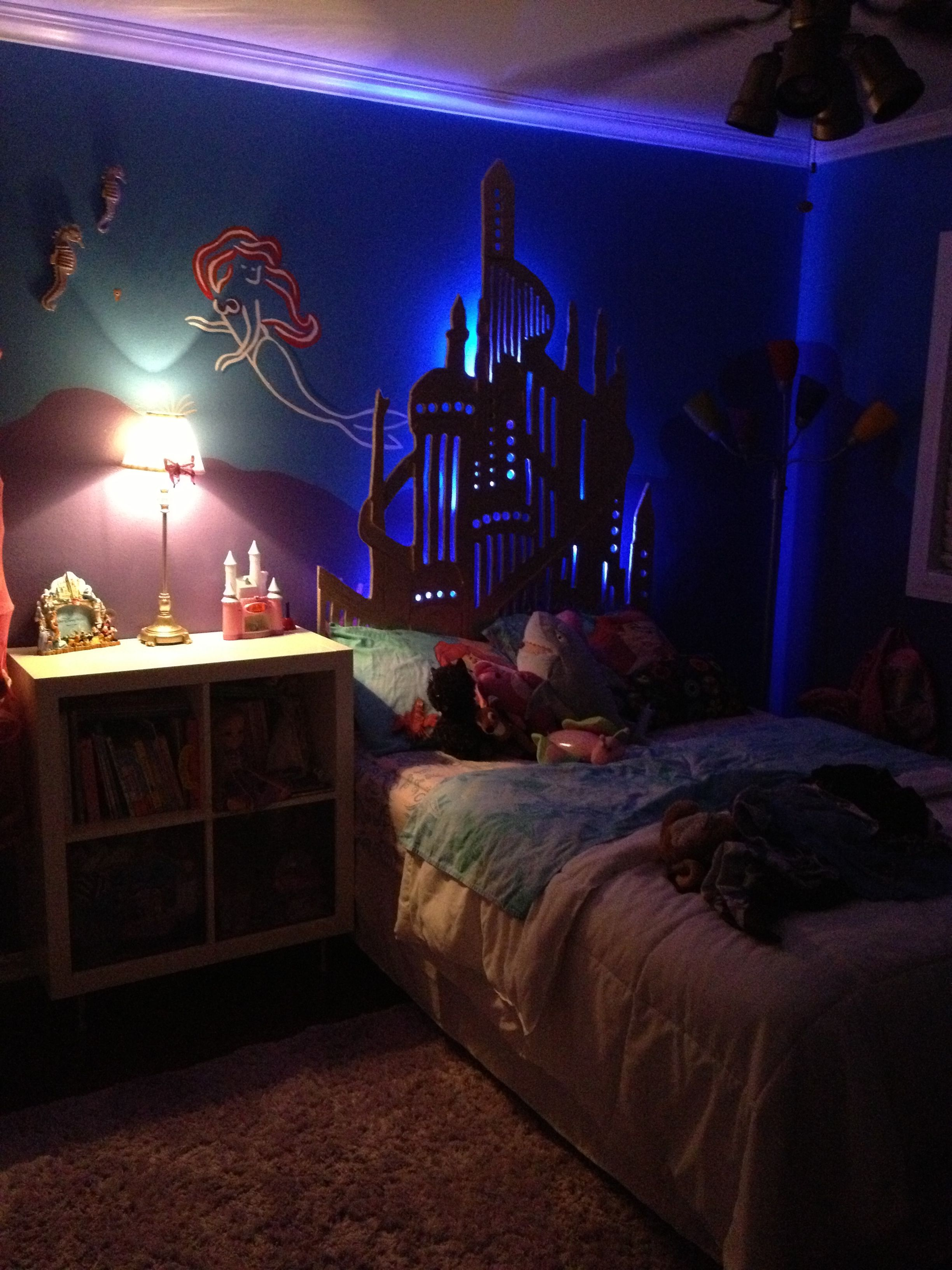 Pin By Ismael Caballero On Girls Room Little Mermaid Bedroom