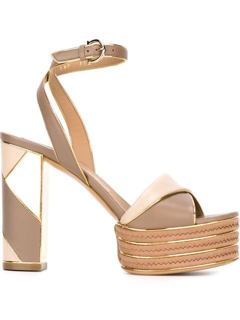 efe1d18b7 Shop Salvatore Ferragamo  Gag  sandals in O  from the world s best  independent boutiques at farfetch.com. Shop 300 boutiques at one address.