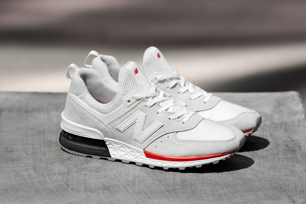 new balance 574 S White | Sneakers men fashion, Sneakers men