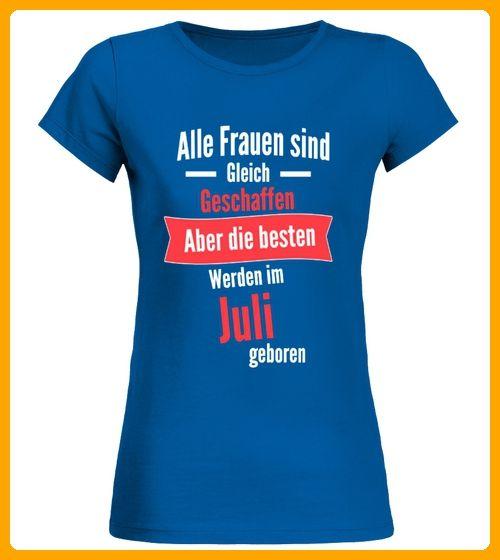 Die besten Frauen sind im Juli geboren - Shirts für mutter (*Partner-Link)