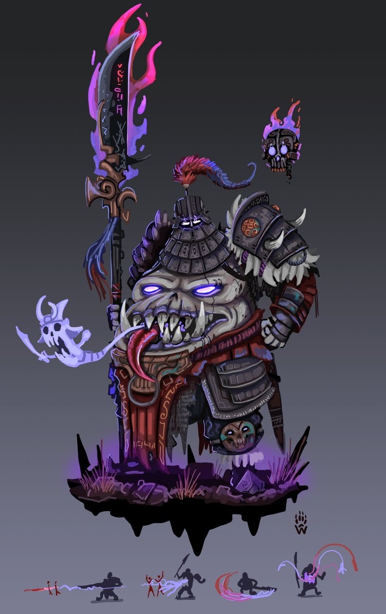 Wolfdawg Art On Twitter Xing Kui Zhong Kui Skin Concept For Smite Smite Fanart Conceptart Https T Co 8fjgcnq Creature Concept Art Wolf Dog Smite Skins