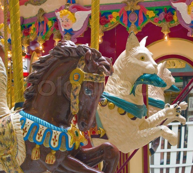 Hest, heste, patriotiske   Stock Billede   Colourbox on Colourbox
