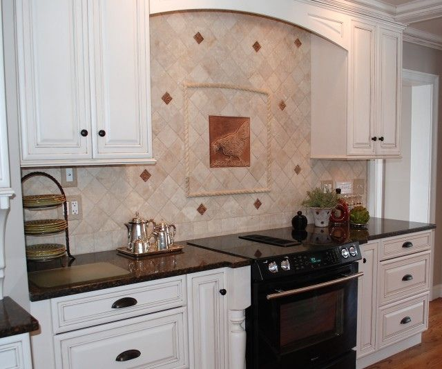French Country Kitchen Backsplash   Google Search