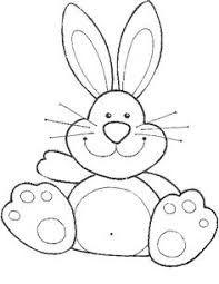 Resultado De Imagen Para Moldes Caras De Conejos De Pascua Mar
