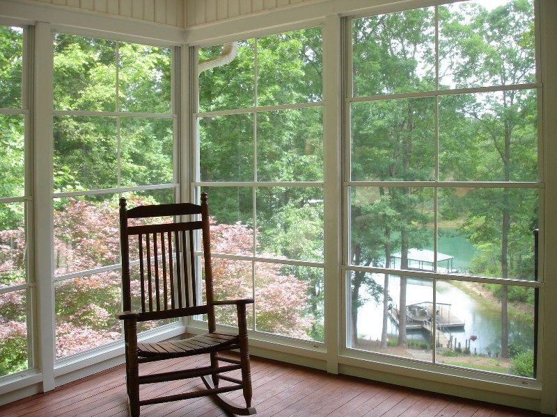 Eze Breeze Enclosed Porch   Inside
