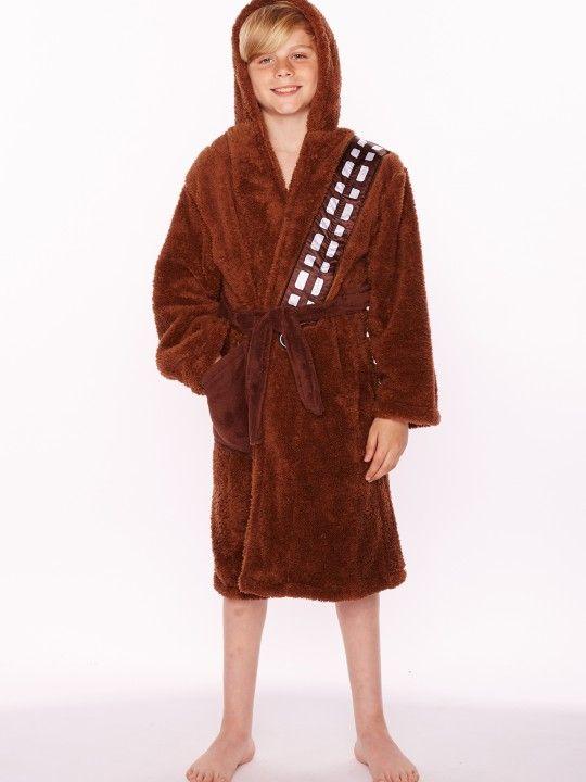 6a4571eabb Star Wars Chewbacca Kids Fleece Bathrobe