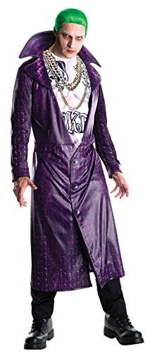 UHC Mens Dc Comics Suicide Squad Joker Outfit Theme Party Halloween Costume STD 4244 * More info could be found at the image url.  sc 1 st  Pinterest & UHC Mens Dc Comics Suicide Squad Joker Outfit Theme Party Halloween ...