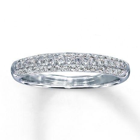 Kay Jewelers White Gold Wedding Band