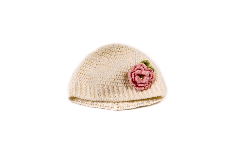 crochet dairy hat