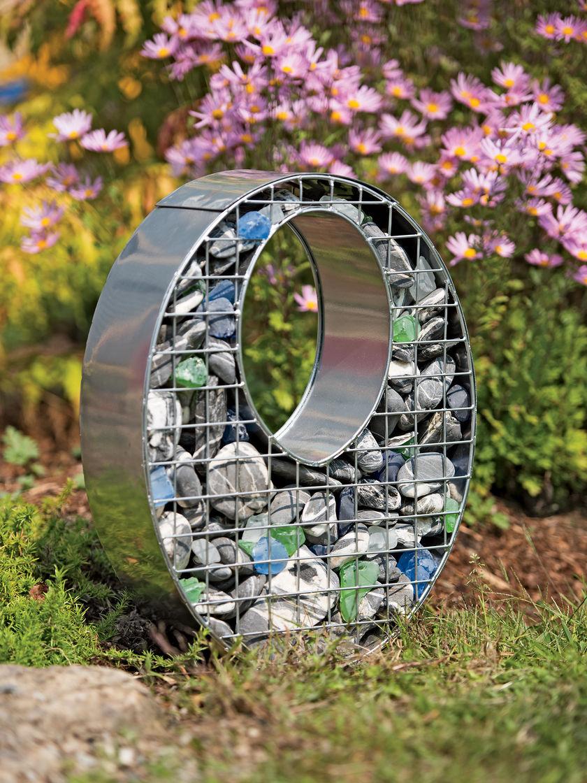 Decorative Oval Gabion Baskets Gardener S Supply 400 x 300