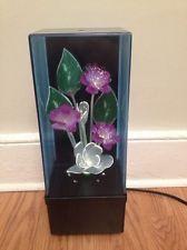 Vintage Fiber Optic Flowers Ebay Flower Lights Vintage Flower Boxes