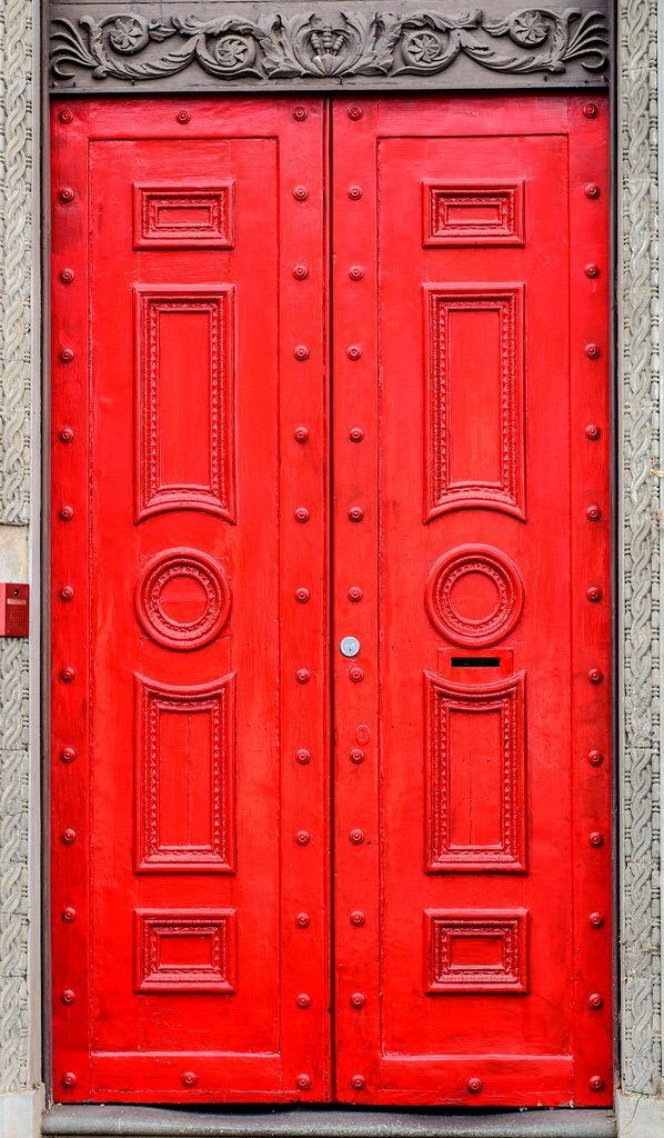 mail box in red door Bendigo Victoria Australia & favourite door pall mall -Bendigo 2015-07-17 | Victoria australia ...