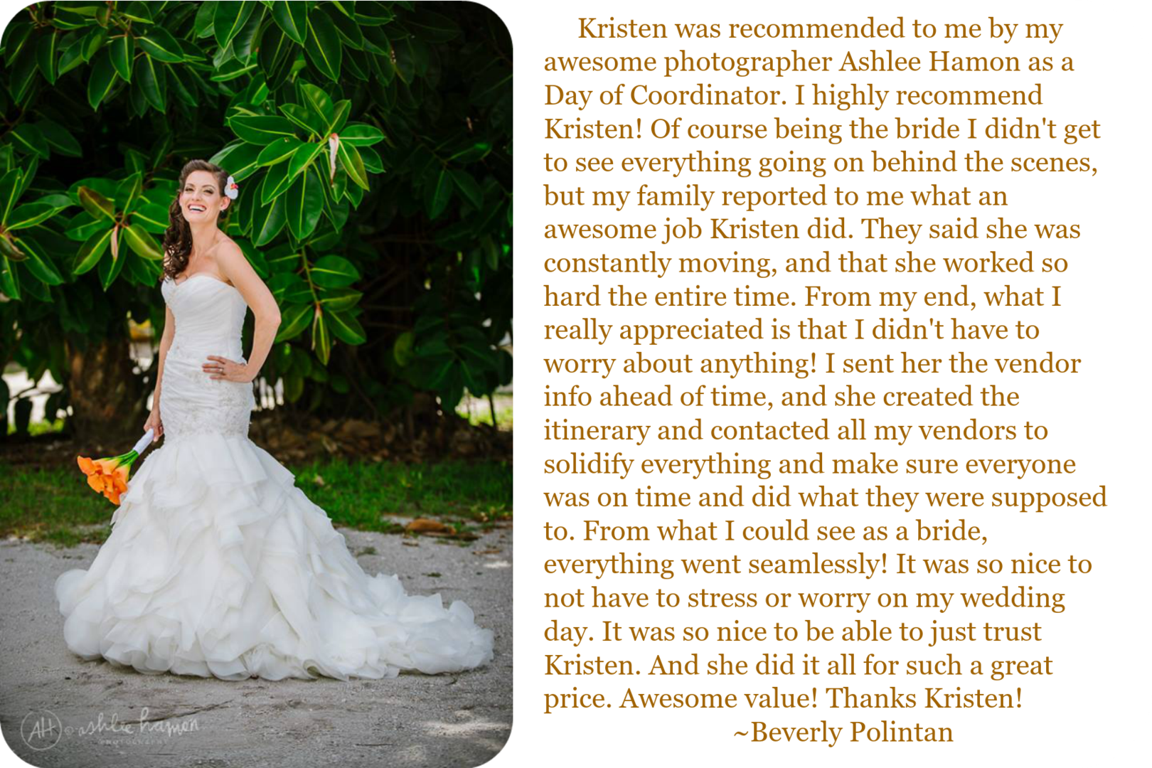 Flawless Fetes Review Ashlee Hamon Photography Cay Point