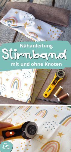Photo of Stirnband nähen | DIY Anleitung ohne Schnittmuster | Wunderbunt.de