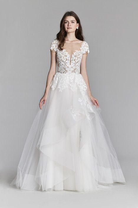 8710 dress (Ballgown, Illusion, Sleeves, Short Sleeve) from Jim ...