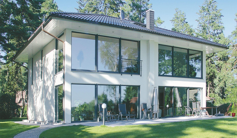 Danhaus Fertighaus Stadtvilla mit Seeblick   wall1   Pinterest