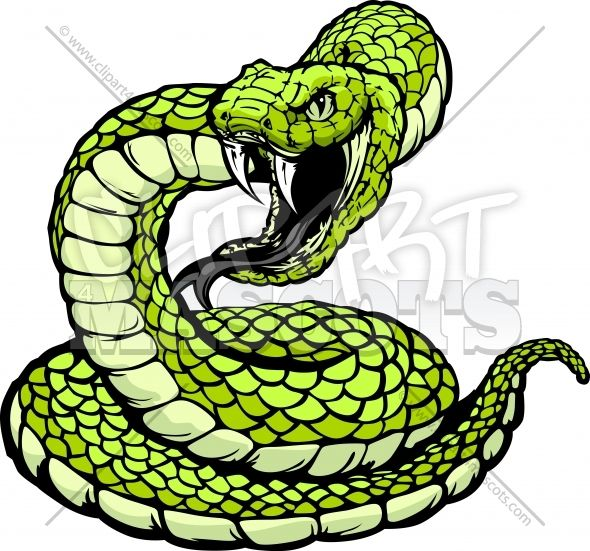 Coiled Snake Clipart Clipart Vector Graphic Snake Drawing Snake Painting Pitbull Art