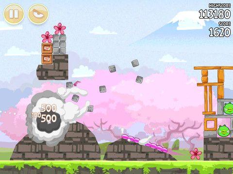 Juego Angry Birds Seasons HD para iPad en la App Store de Apple.
